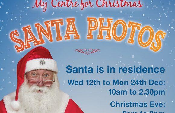 Santa hours and photos