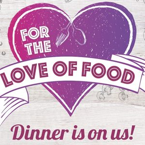 Win a Delicious 2 Course Dinner