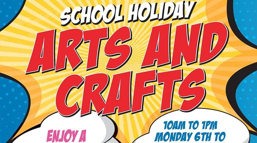 School Holiday Arts & Crafts