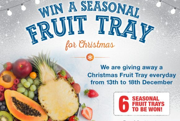 Win a Fruit Tray for Christmas