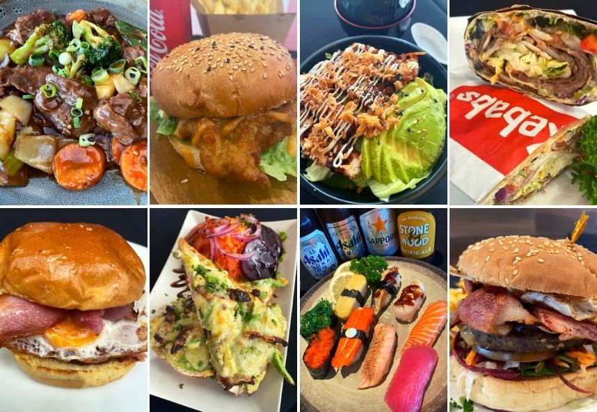 Going out for lunch? you're spoiled for choice at My Centre Nerang..