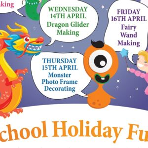 Free School Holiday Arts & Crafts