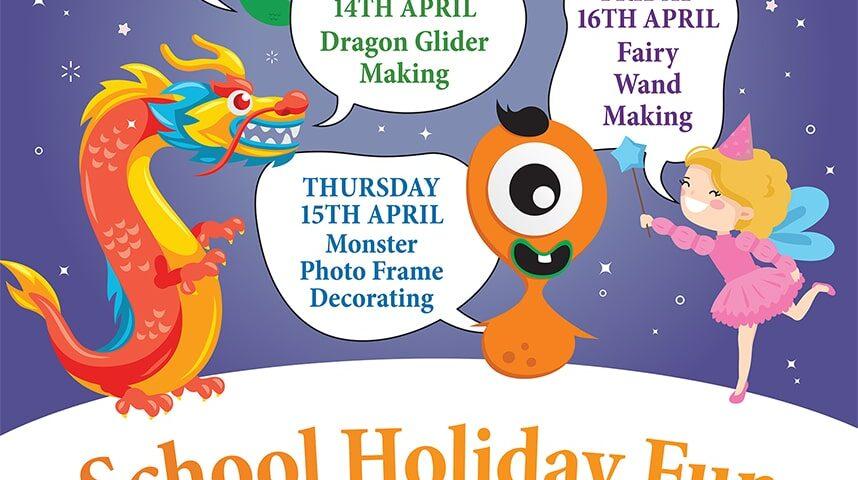Free School Holiday Arts & Crafts
